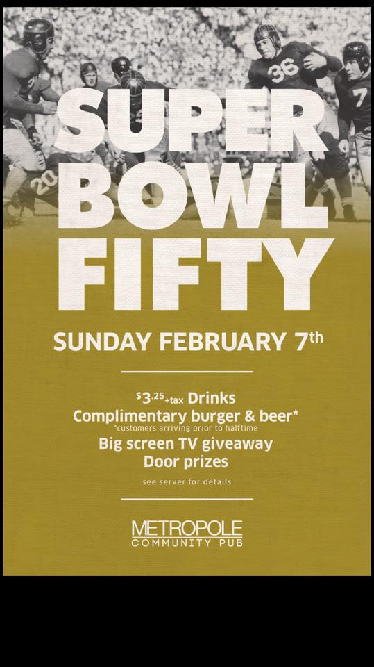 Superbowl Party!!!!